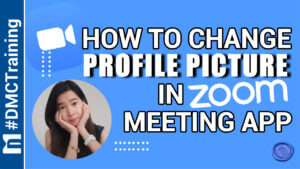 how to change profile picture in zoom meeting app