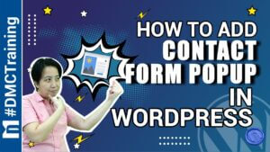 - How To Add Contact Form Popup In WordPress
